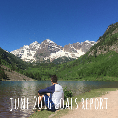 June 2016 Goals Report