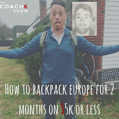 backpack europe 2 months college