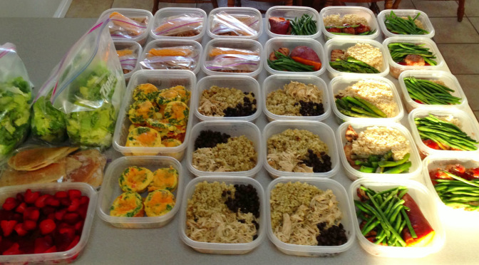 easy meal prep storage