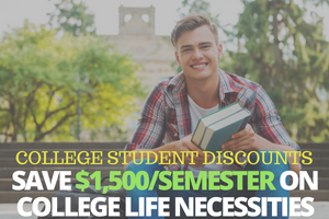 college student discounts