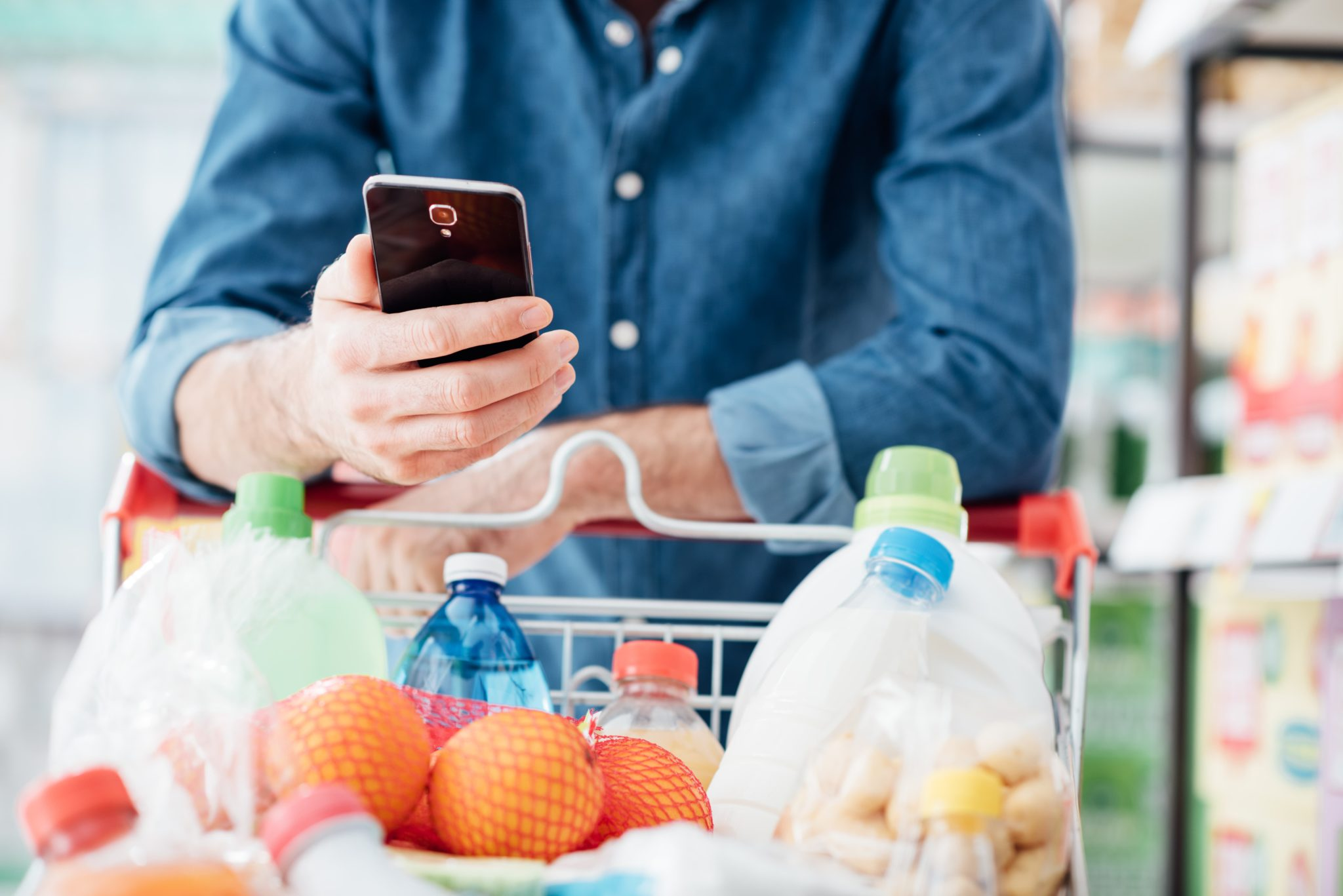 grocery store apps to save money